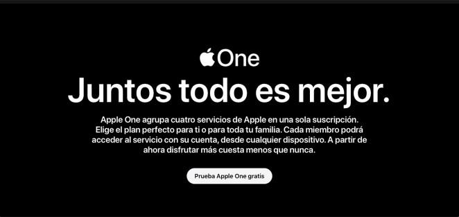 Apple One un solo pago para acceder a todo