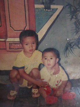 My Little Bro and Me whe we was so young