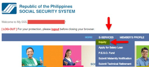 How to check member contributions in SSS Online