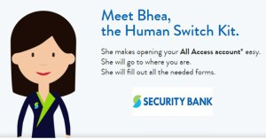Human Switch Kit Open Account Security Bank
