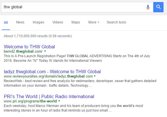 THW Global Advertising