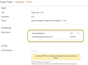 Succesful linking Namecheap domain to blogspot hosting