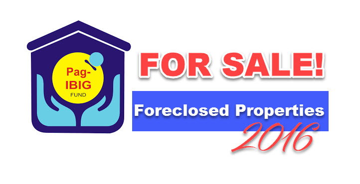 Pag-IBIG Foreclosed Properties for Sale via Public Auction