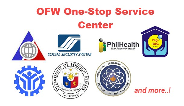 OFW One Stop Service Center in POEA