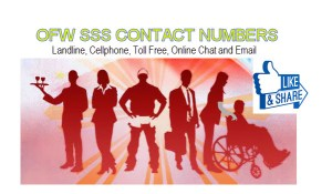ofw sss contact numbers