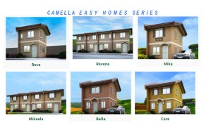 Camella Easy Home Series – House Models and Prices