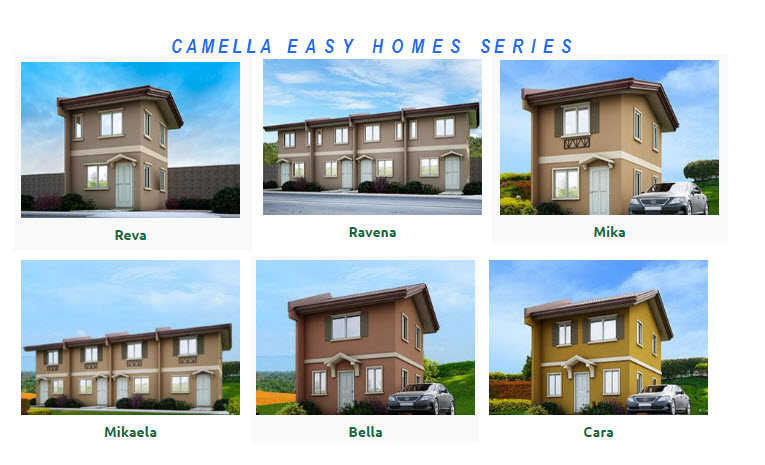 camella easy home series house models and prices isensey - House Models Pictures