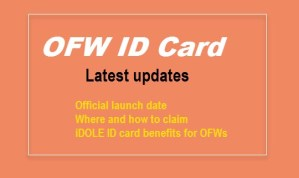 ofw id card how to get