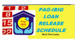 pagibig loan release schedule