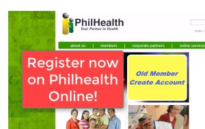 register account in Philhealth Online