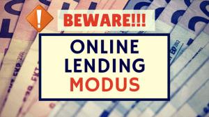 online lending scam beware