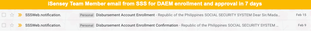 enroll to daem and get approved