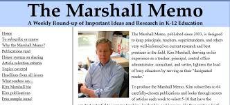 marshall memo