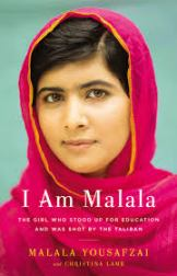 I am Malala, by Malala Yousafzai