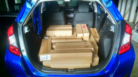 210 Kindles in Car