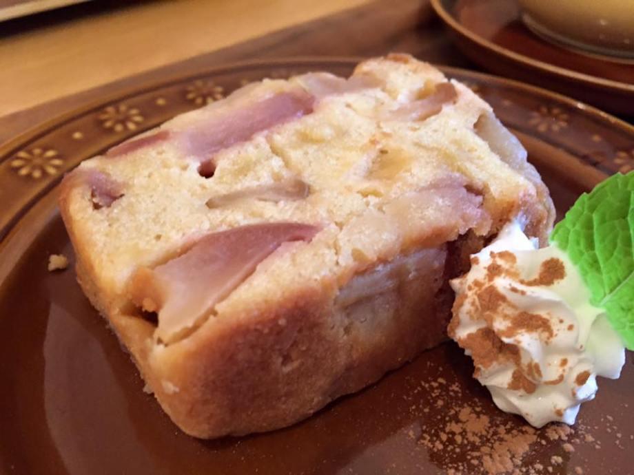 林檎ケーキ伊勢カフェ