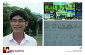 La Van Son, Hue University Architecture student, shares the story of his father's death in the 1990 floods in Hue. This traumatic event has fueled his interest in designing storm resistant homes and enthusiasm for the design competition.