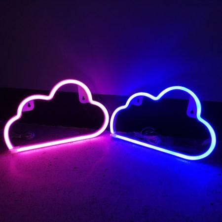 Cloud Neon Light Sign