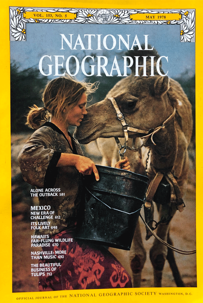 Robyn Davidson - National Geographic