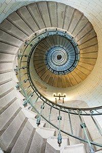 En smuk trappe op symboliserer vejen mod vores vision med Systemisk Opstilling