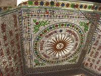 Bhadra Maruti Temple Khuldabad ceiling
