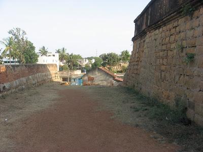 Devanahalli Fort wall