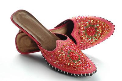 Peranakan beaded slippers Malaysia