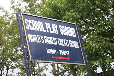 World's highest cricket ground Chail