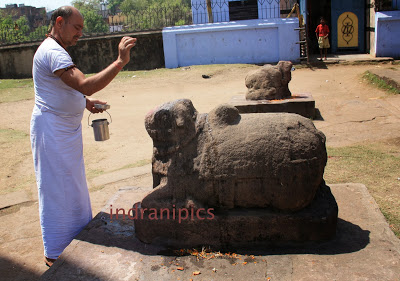 Nandi at Begunia Temples of Barakar