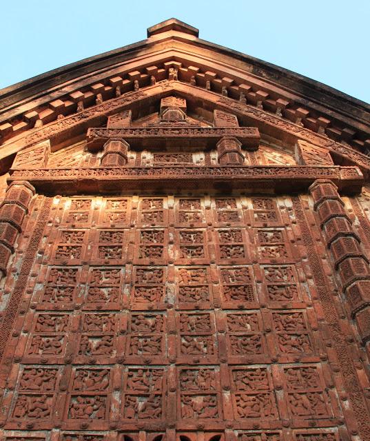 Jor Bangla Mandir Facade