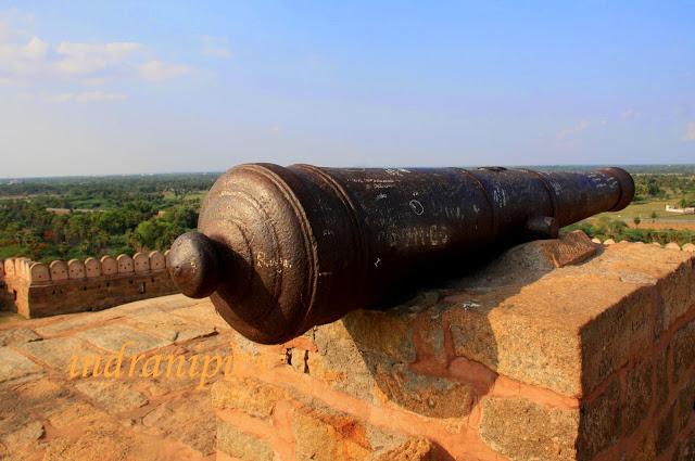Thirumayam fort karaikudi canon