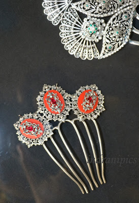 Souvenirs from Cordoba antique hairpin