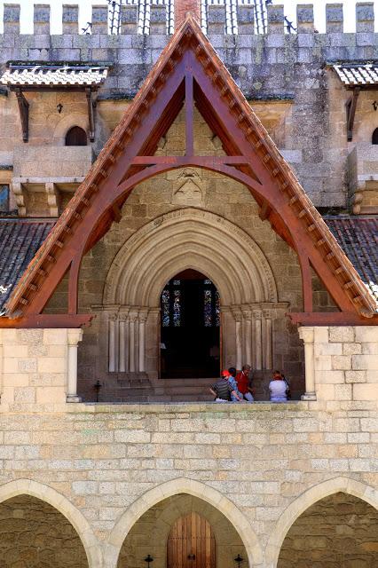 Chapel Palace of Dukes of Braganza Facade