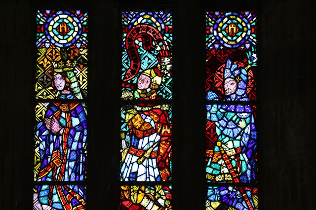 Chapel Palace of Dukes of Braganza stained glass paintings