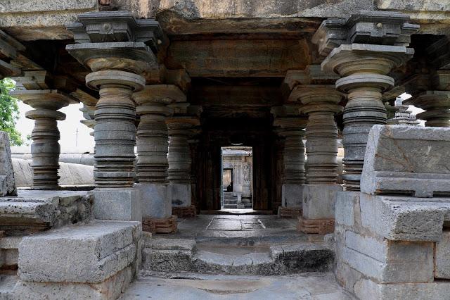 Main entrance to Lakshmi Devi Temple of Doddagaddavalli