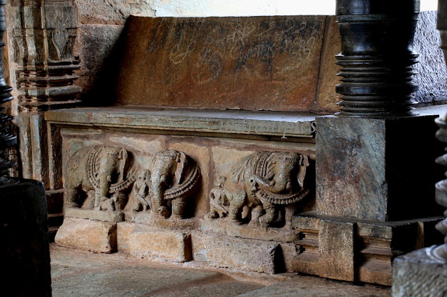 Veeranarayana Temple Seating