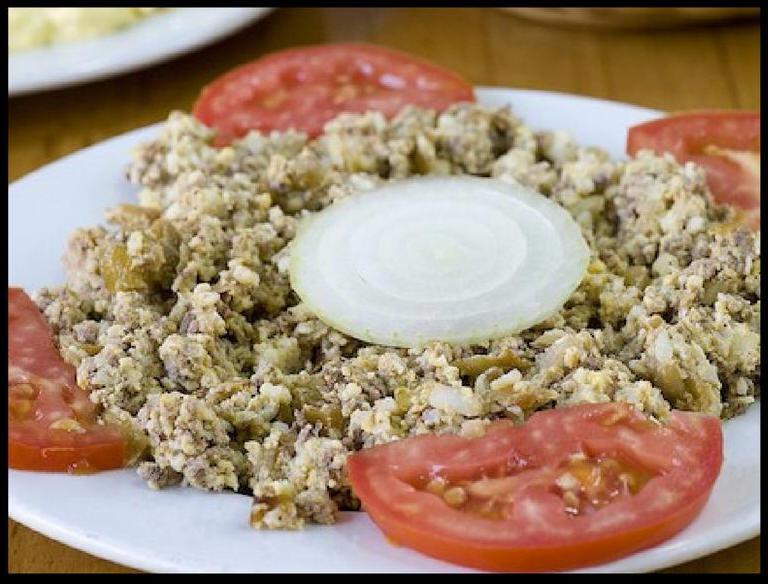 Best Israeli Dishes chicken liver salad