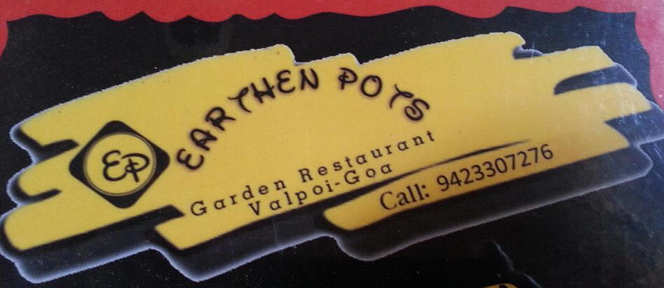 Earthenpot menu