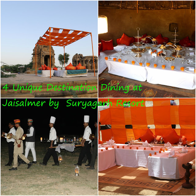 4 Unique Destination Dining at Jaisalmer by Suryagarh Resort