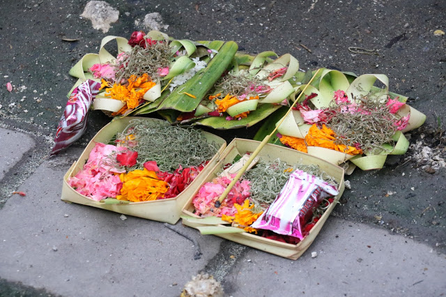 Balinese Custom - Offering to Gods