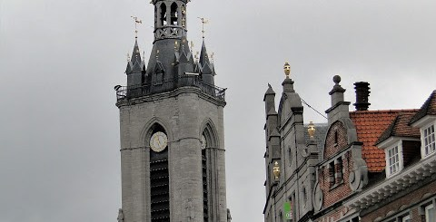 Belfry of Tournai Belgium