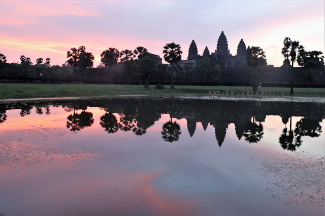 Best sunrise capture in Angkor Wat Temple