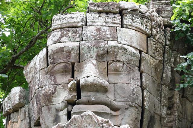 Buddha at Ta Phrom