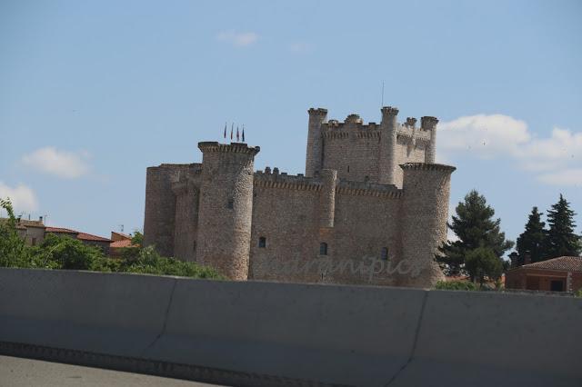 Castle near Torre del Burgo