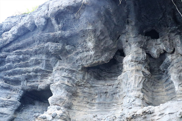 Eroding away slowly - Rock carvings and structures
