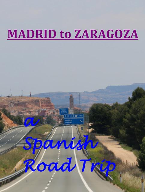 road drive from Madrid to Zaragoza