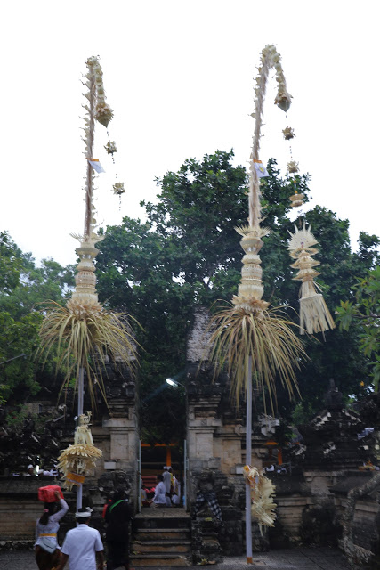 Penjor Balinese tradition.