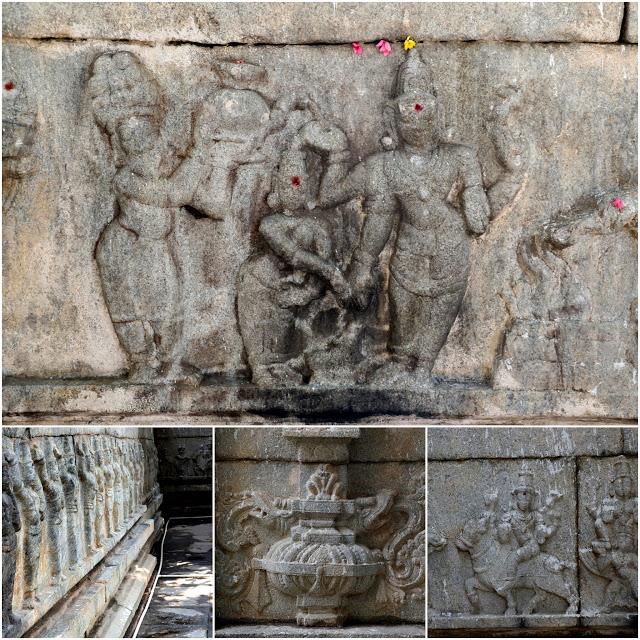 Someshwara Temple sculptures