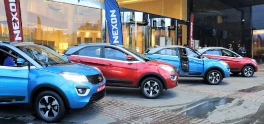 Test Drive of Tata Nexon