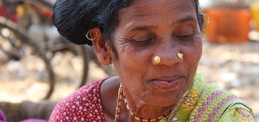 Faces of India Tribal woman from Dantewada